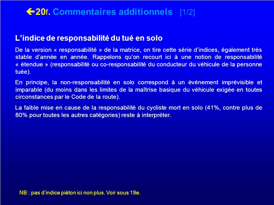 20f. Commentaires additionnels [1/2]